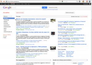 La déclinaison belge de Google News n'inclut pas les principaux quotidiens regroupés sous la bannière Copiepresse