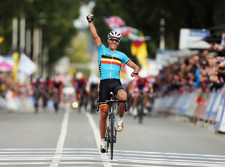 Philippe Gilbert champion du monde