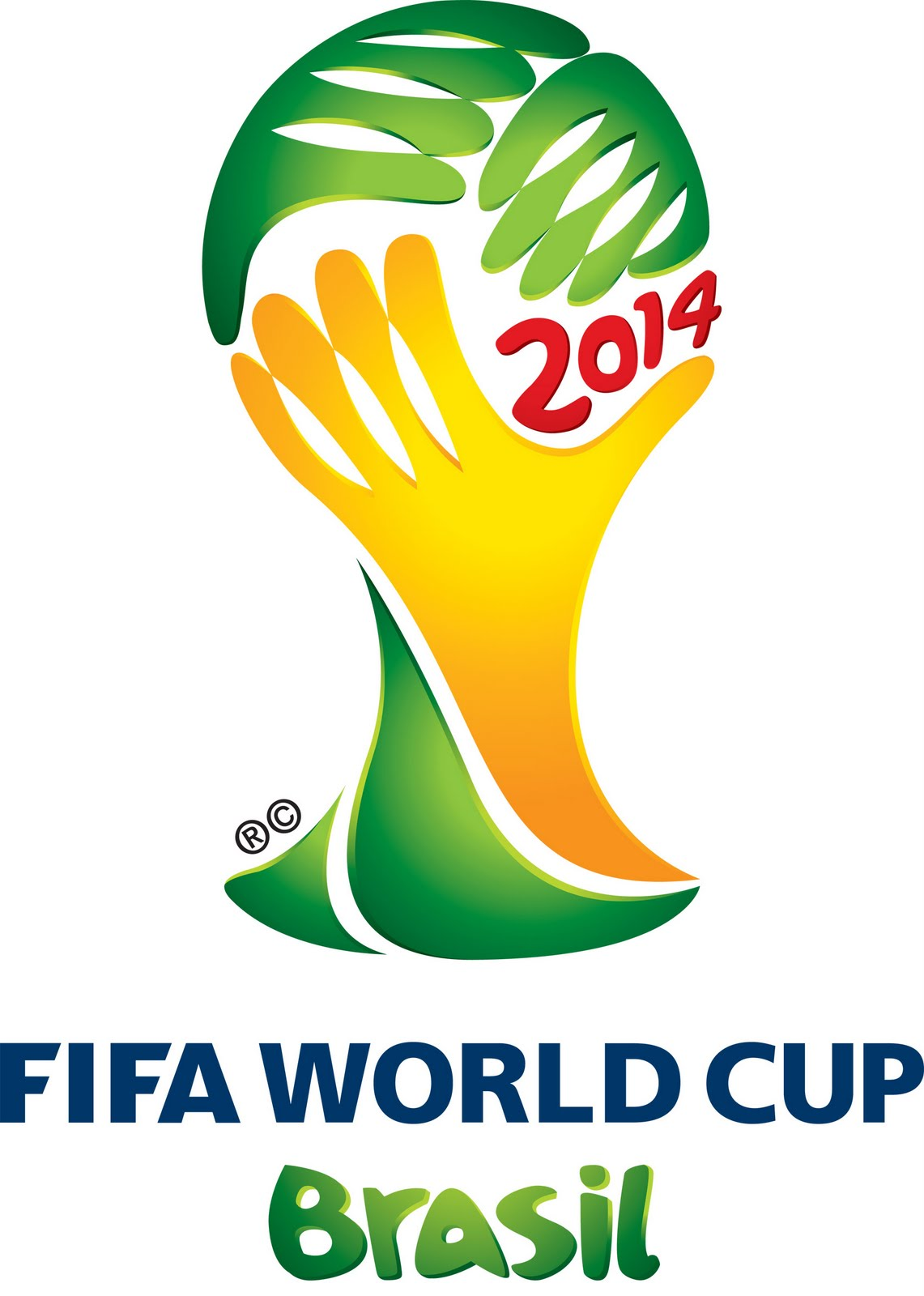 Le logo de la World Cup 2014. Une 'propriété' bien protégée.