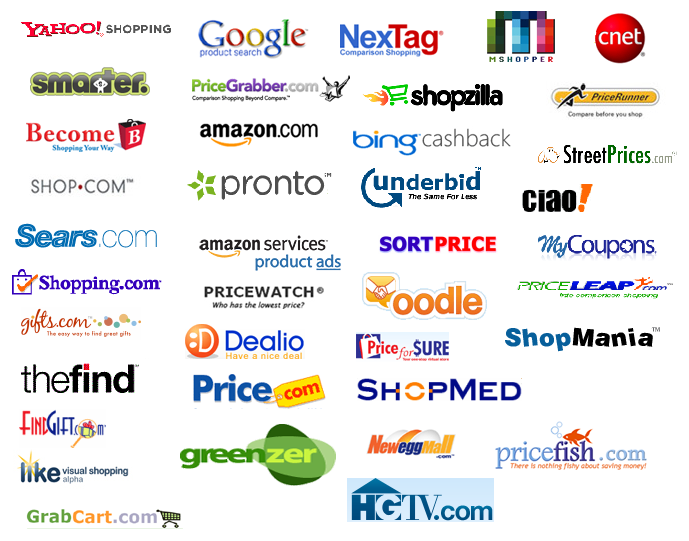 Ipdigit how do comparison shopping sites make a living an for Trusted websites for online shopping