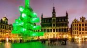 Brussels Xmas tree